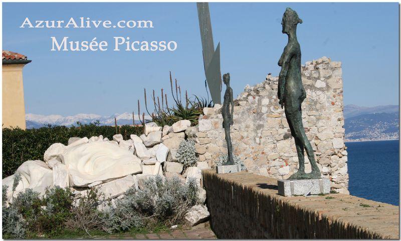 Antibes Picasso Museum Garden
