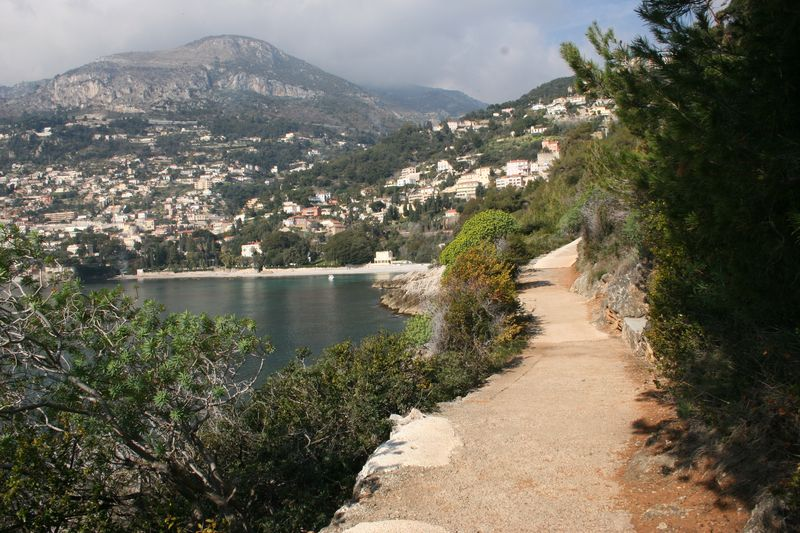 Sentier du Littoral on the French Riviera