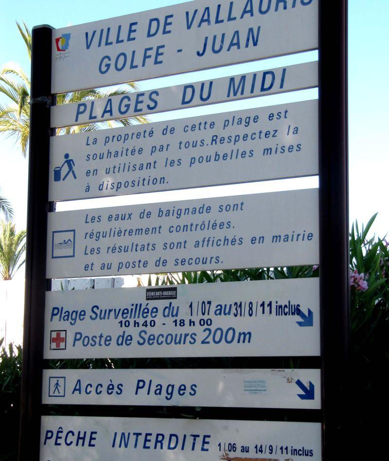 AzurAlive.com: Plage du Midi, Golfe-Juan