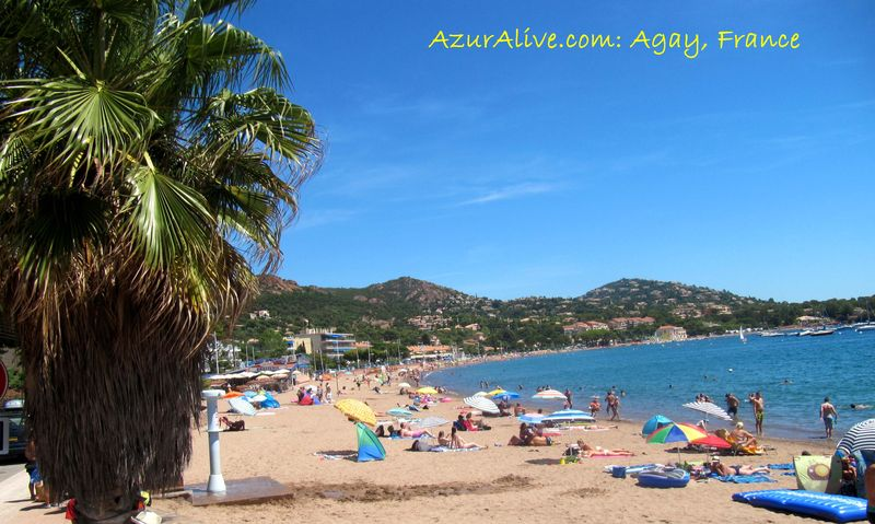 AzurAlive: Agay Beach, French Riviera