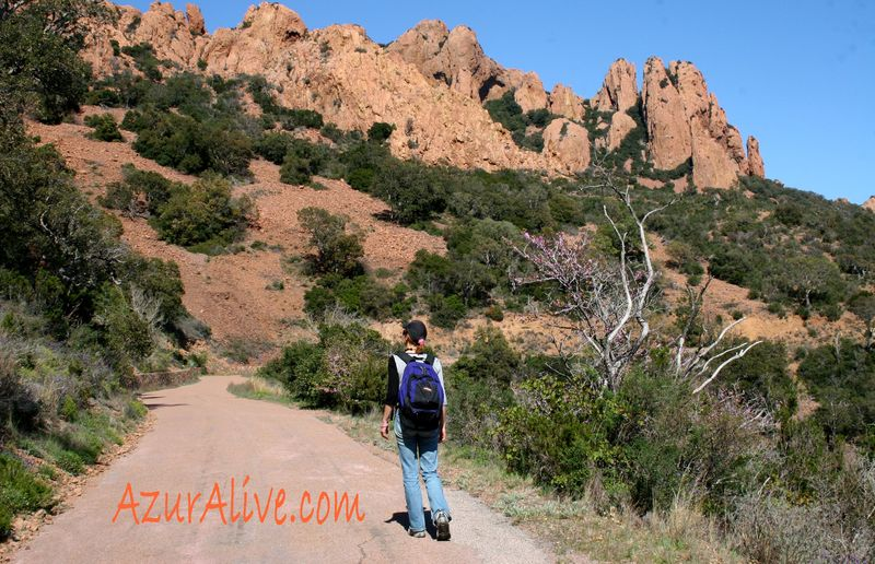 Hiking the Esterel by AzurAlive
