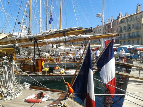 The port of St Tropez