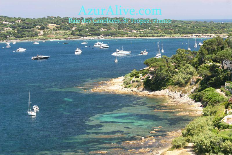 AzurAlive.com: St Tropez - Baie des Canebiers