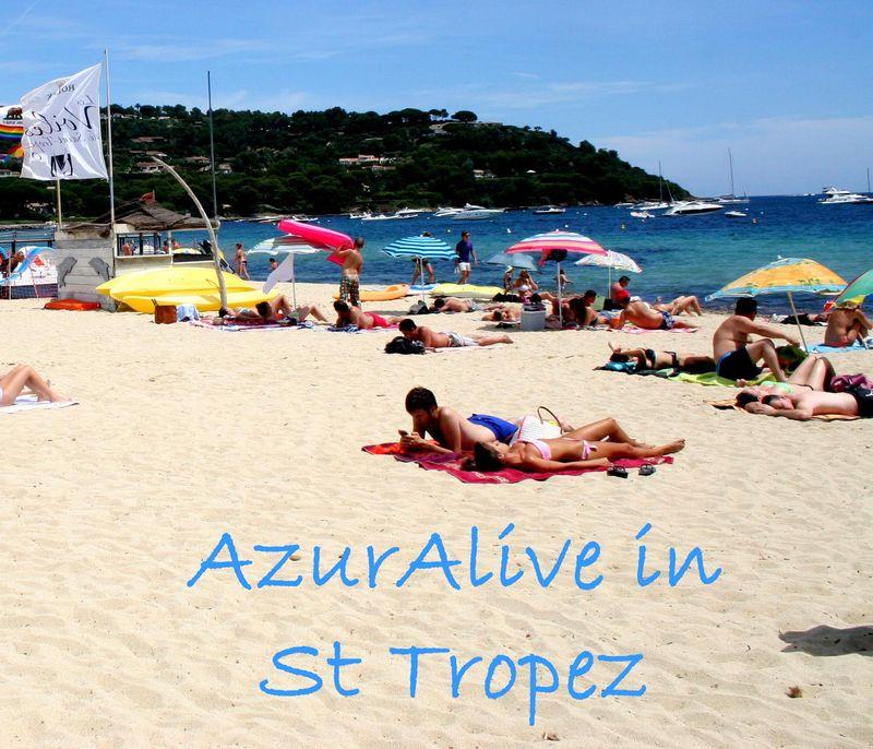 AzurAlive: Tahiti Beach, St Tropez, France