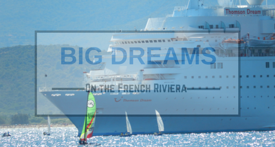 Thomson Dream in Saint-Raphael on the French Riviera