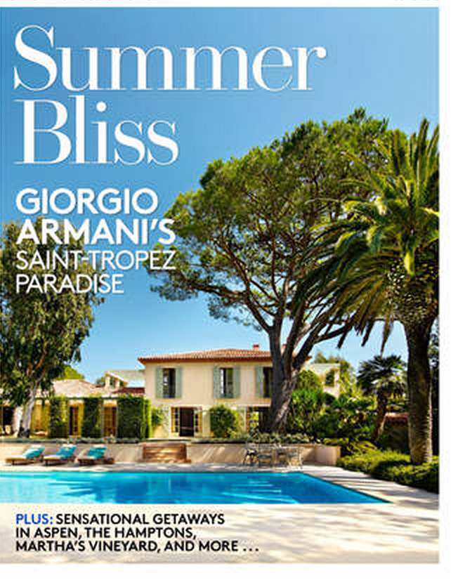 Armani's Home in StTropez
