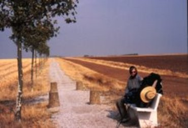 Bench Break on Meseta, Photo by S & R Alcorn
