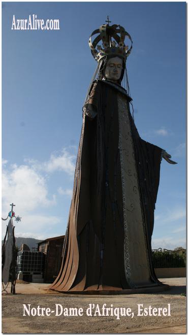 Azuralive: Notre Dame d'Afrique, Esterel, France