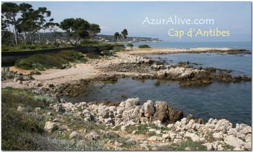 Azuralive: cap d'Antibes, Cap Gros