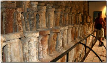 Amphorae at St Raphael Museum