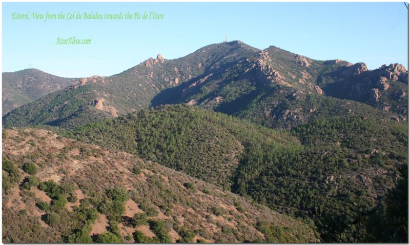 Hiking Esterel, Col du baladou, AzurAlive