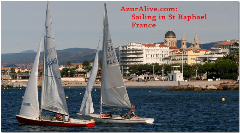 Azuralive: Sailing in St Raphael