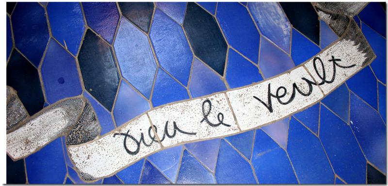 Azuralive, Chapelle Cocteau ceramics by Pelissier