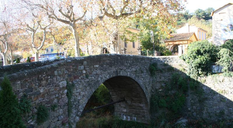 the towns 11th century bridge